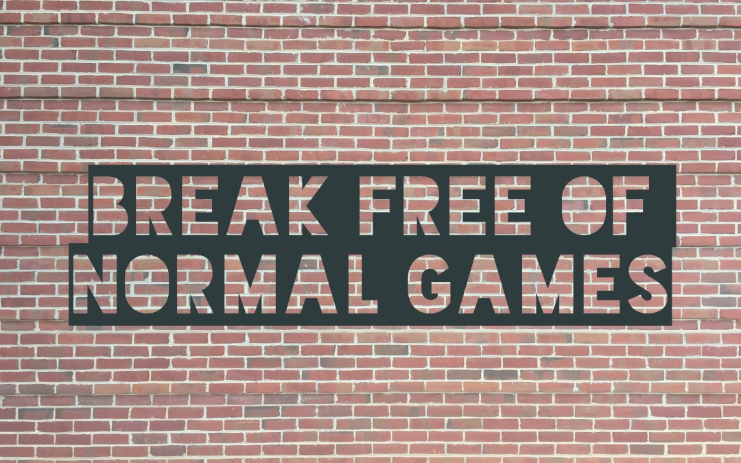 Break Free Of Normal Games With Our Newest Arrival