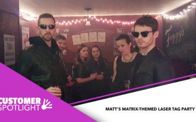 Customer Spotlight: a personal Matrix-Themed Party!