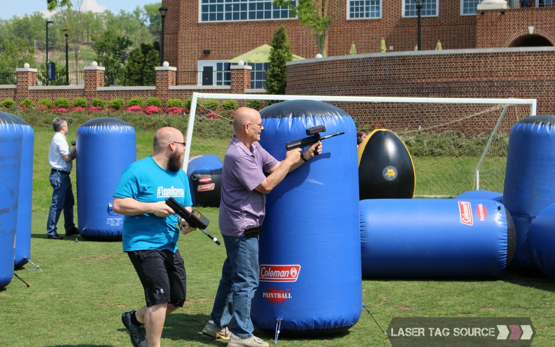 Warm Weather Laser Tag