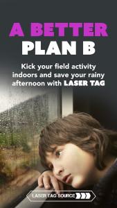 Indoor Laser Tag (A Better Plan B)