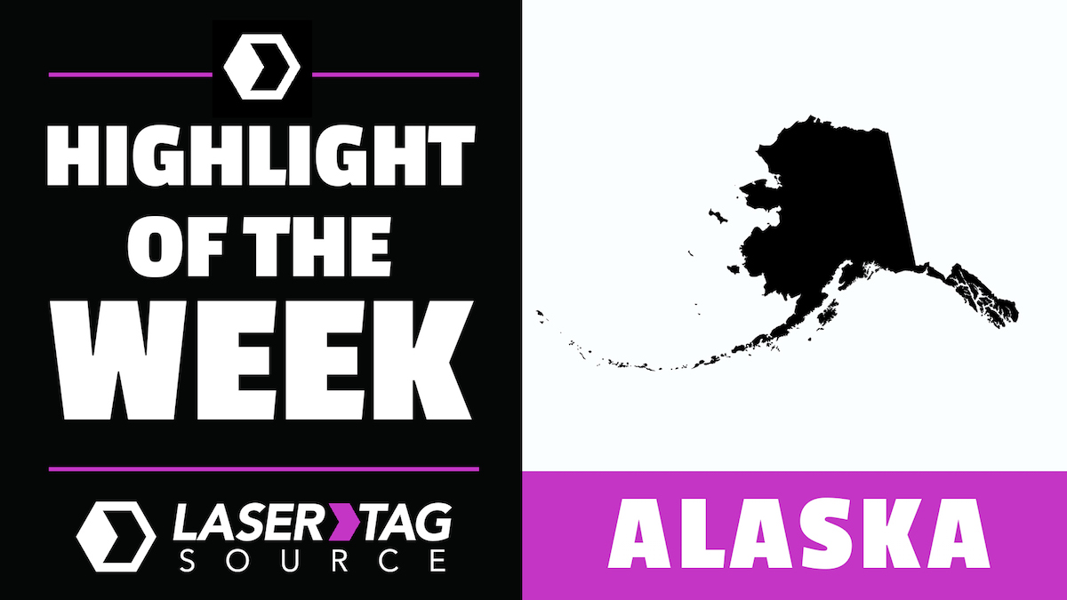 laser tag Alaska state of the week