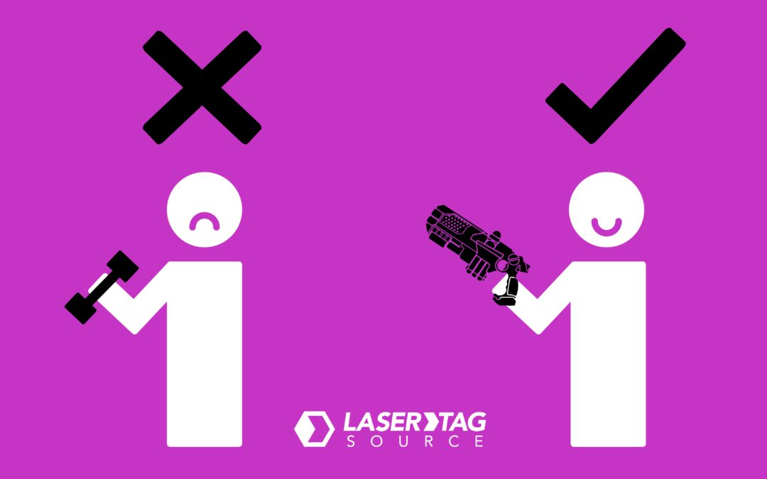 Laser Tag: Stay Active and Out of the Gym