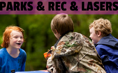 Parks & Rec & Lasers