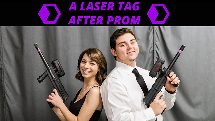 A Laser Tag After Prom