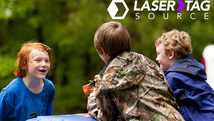 A Laser Tag Field Day!