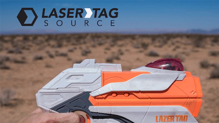 Laser Tag Source Goes West