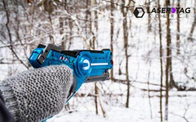 Laser Shootin' in a Winter Wonderland