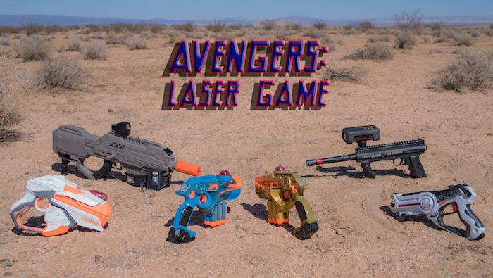 Avengers: Laser Game