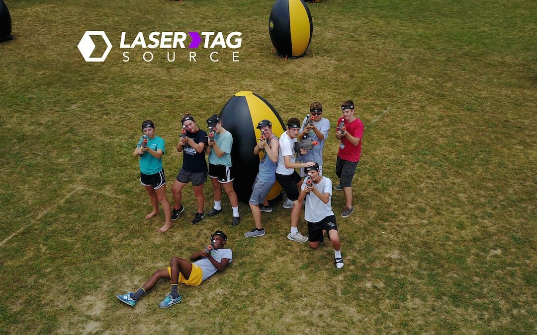 Laser Tag vs. Paintball
